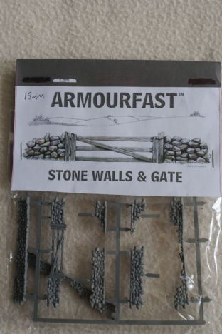 Armourfast 15mm 15/79002 Stone Walls & Gate